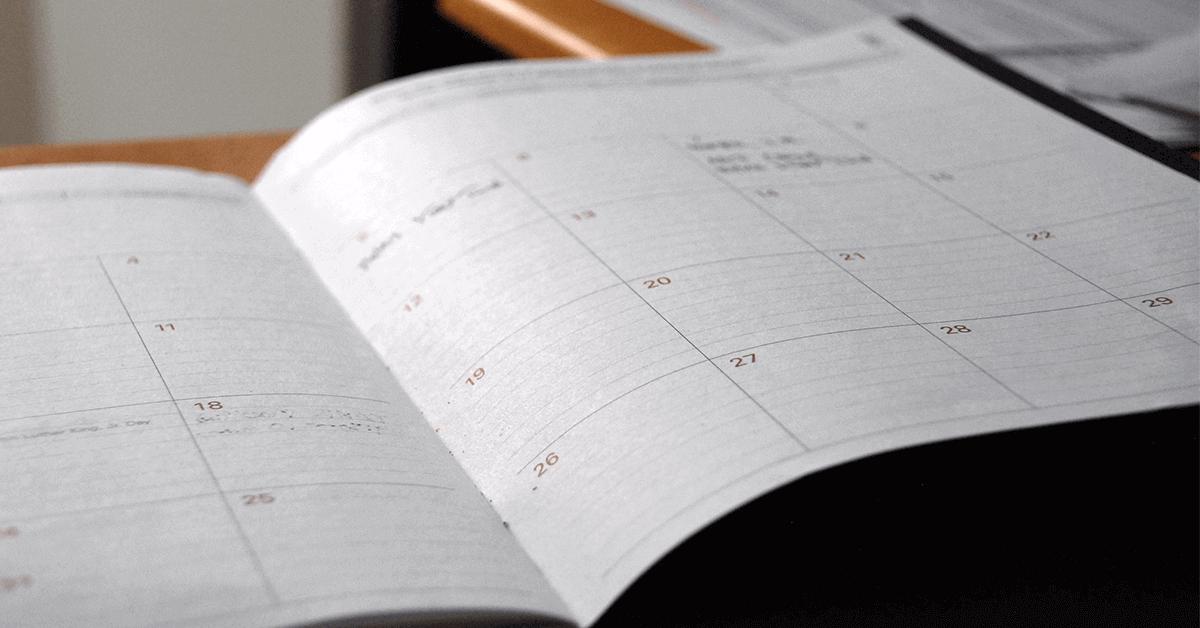 Lukion tärkeät päivämäärät, lomat ja koeviikot